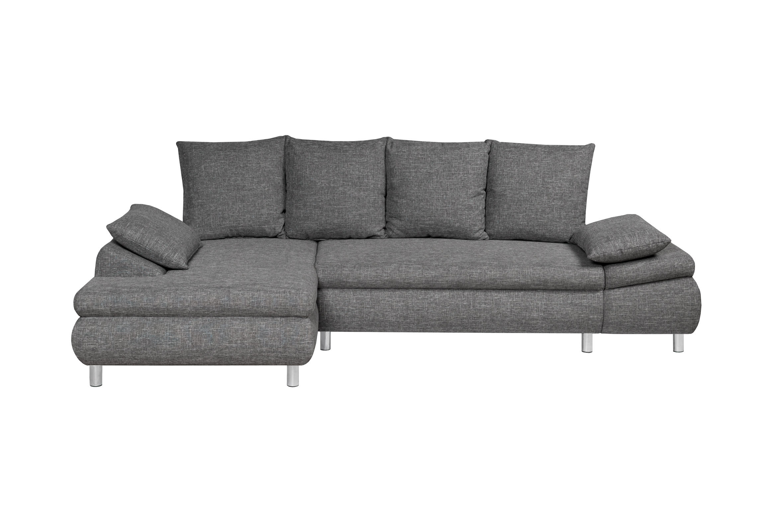 canap d 39 angle convertible gauche avec coffre naho miliboo. Black Bedroom Furniture Sets. Home Design Ideas