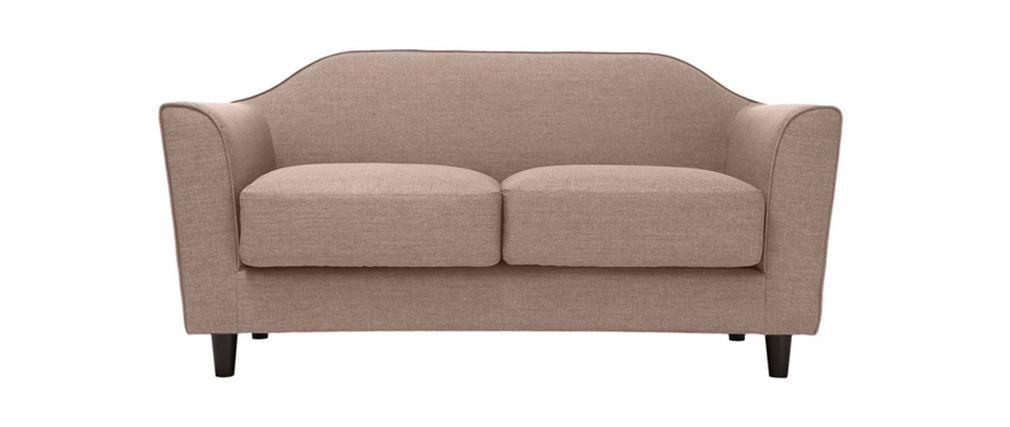 Canapé design 2 places beige SOVHA
