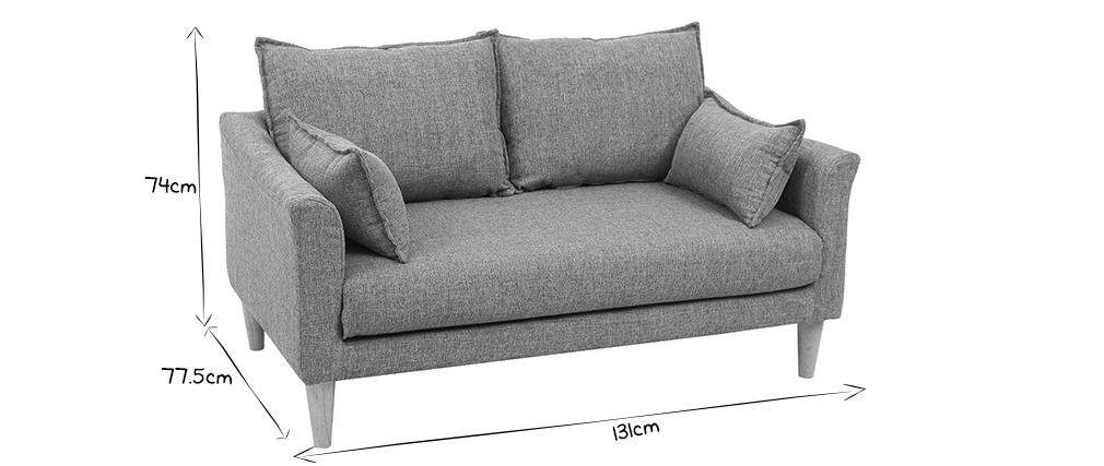 Canapé design 2 places menthe à l