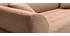 Canapé design 3 places beige ARTIC