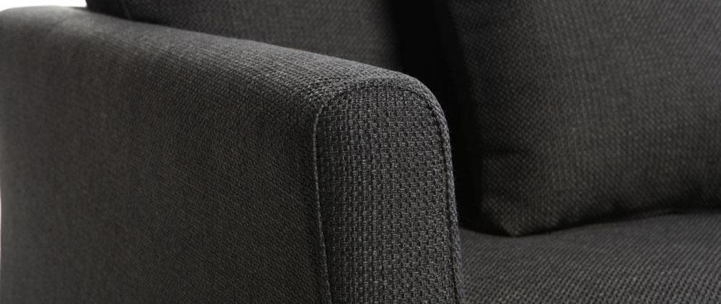 Canapé design 3 places design gris VOLUPT