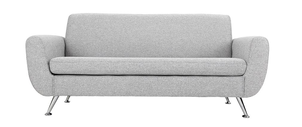 Canapé design 3 places gris PURE