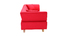 Canapé design 3 places Rouge ARTIC