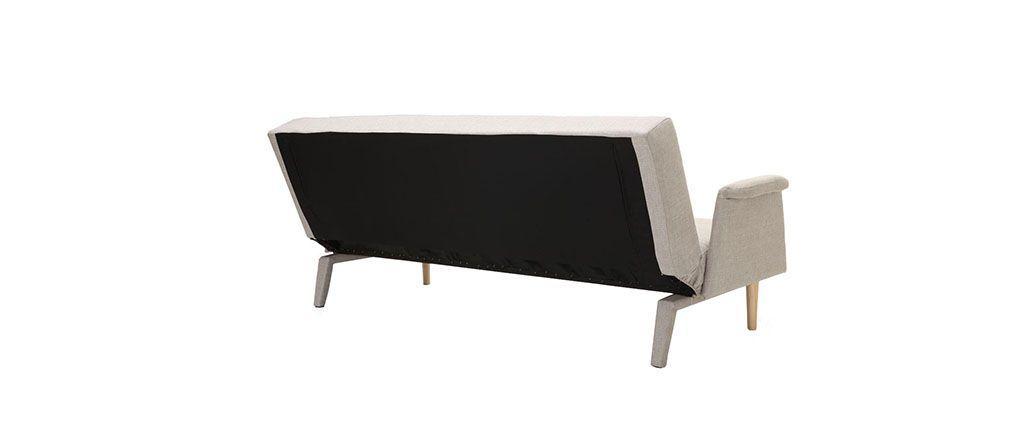 Canapé design convertible naturel OSCAR