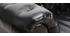 Canapé design cuir noir 3 places CHESTERFIELD - cuir de buffle