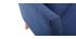 Canapé scandinave 2 places déhoussable bleu foncé OSLO