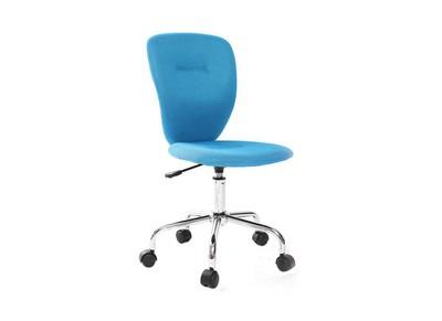 Chaise de bureau enfant bleue LIZZY