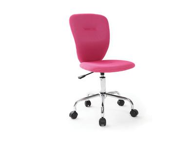 Chaise de bureau enfant rose LIZZY
