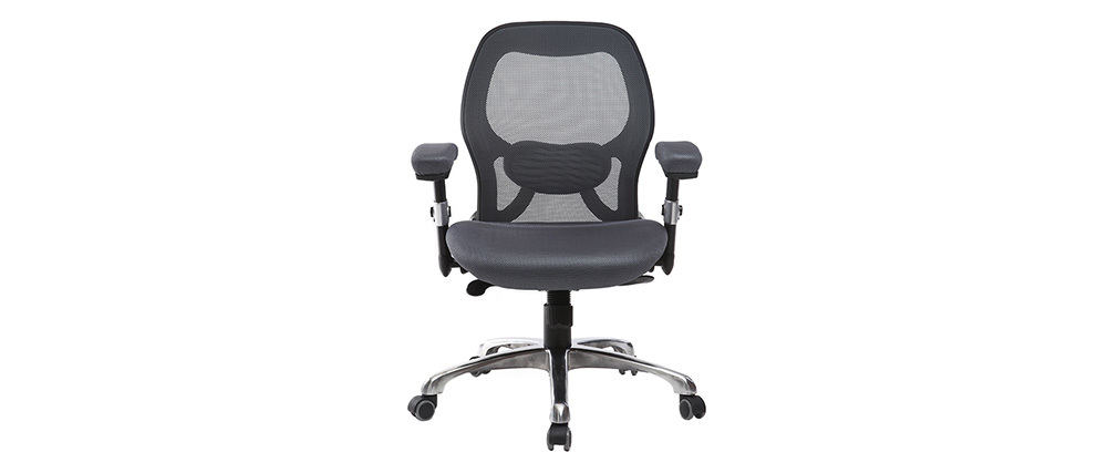 Chaise de bureau ergonomique gris ULTIMATE V2