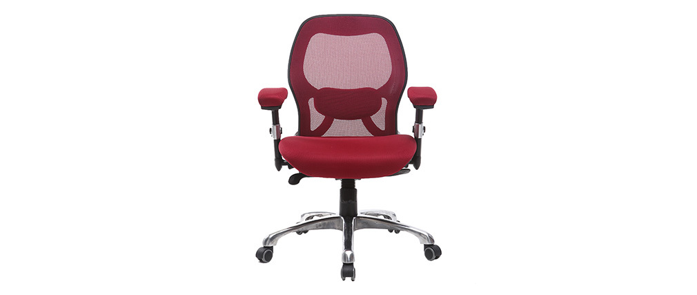 Chaise de bureau ergonomique rouge ULTIMATE V2