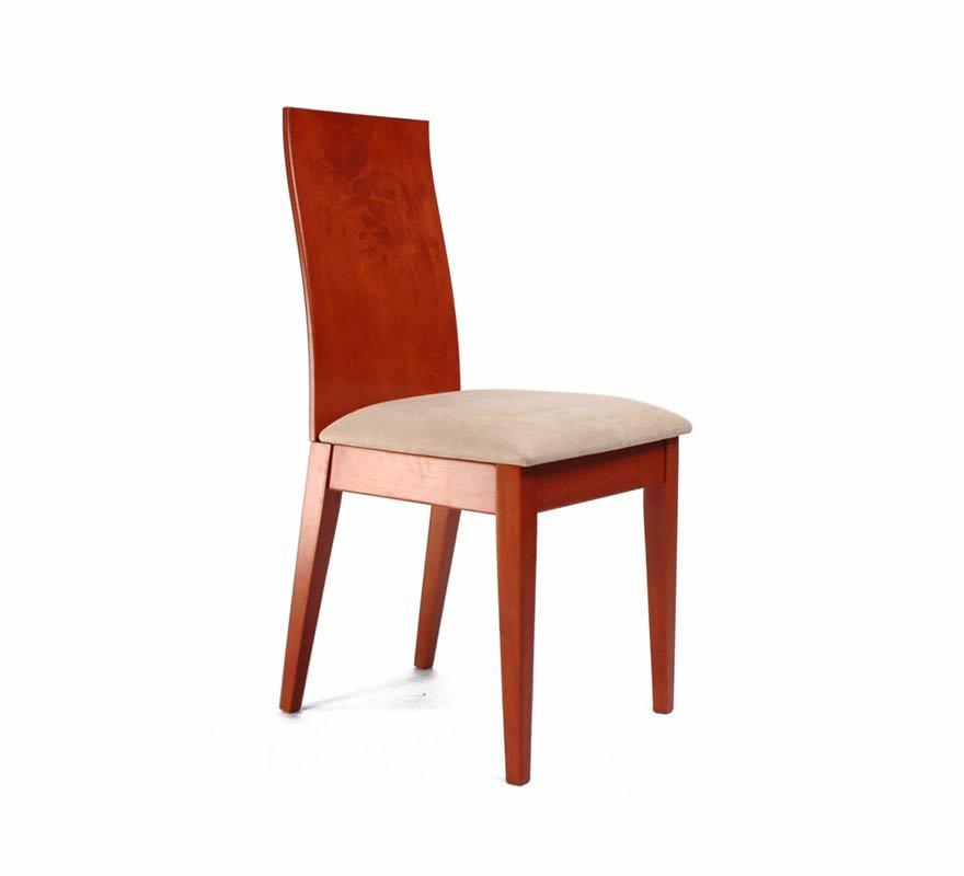 Chaise de cuisine salle manger en bois couleur for Chaise cuisine couleur