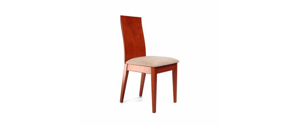 Chaise de cuisine salle manger en bois couleur - Chaises de couleur pour salle a manger ...