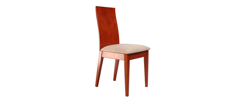 Chaise cuisine couleur peinture cuisine avec meubles for Meuble salle À manger avec chaise cuisine bois