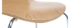 Chaise design bois clair (lot de 2) NEW ABIGAIL