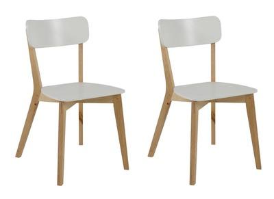 2Laena Matlot Bois Chaise De Et Laqué Design Blanc 6gb7Yfy