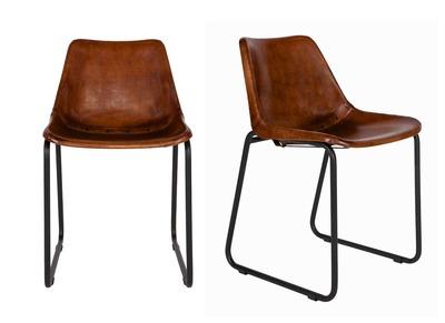 Chaise l 39 univers de la chaise pas cher design miliboo - Chaises en cuir design ...