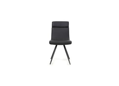 Chaise design noire lot de 2 BETSY