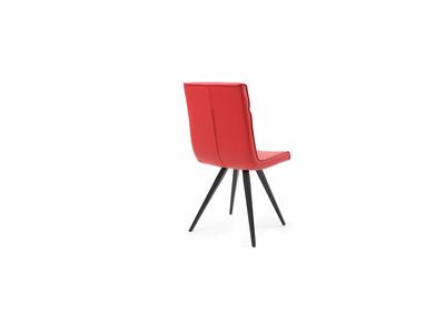 Chaise design rouge lot de 2  BETSY