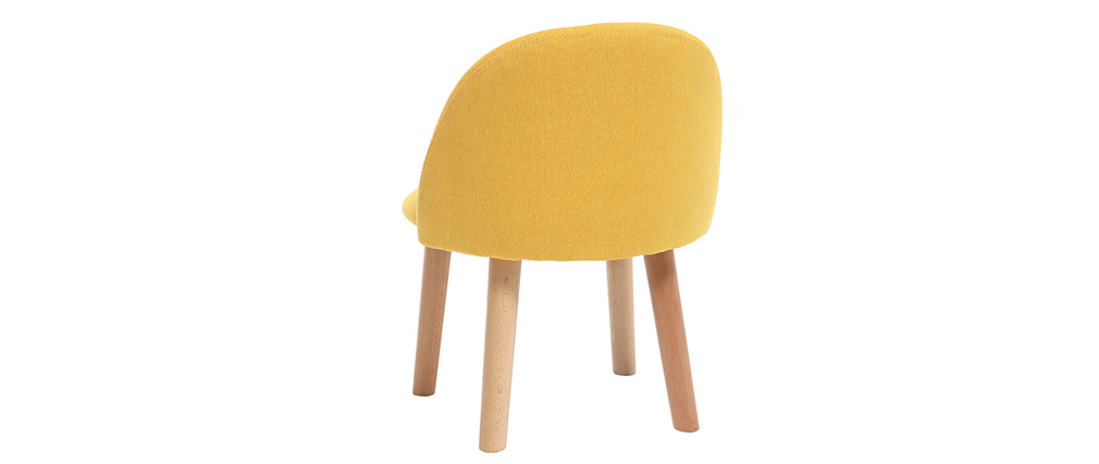 Chaise enfant design jaune BABY CELESTE
