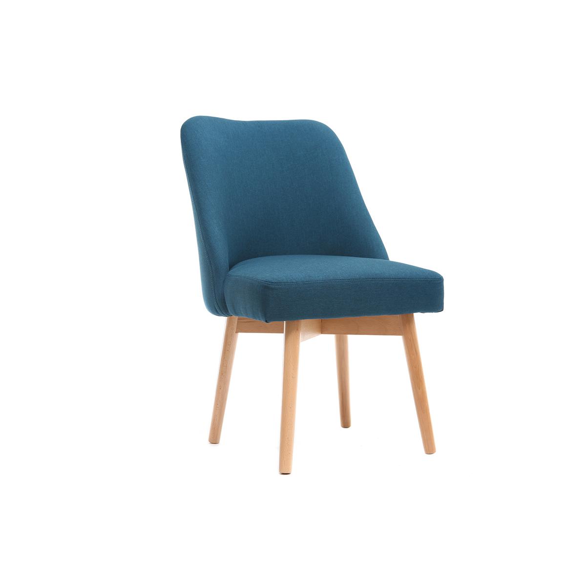 Chaise Tissu Design Chaise Scandinave Design Tissu Nkx80wnop J1clFK