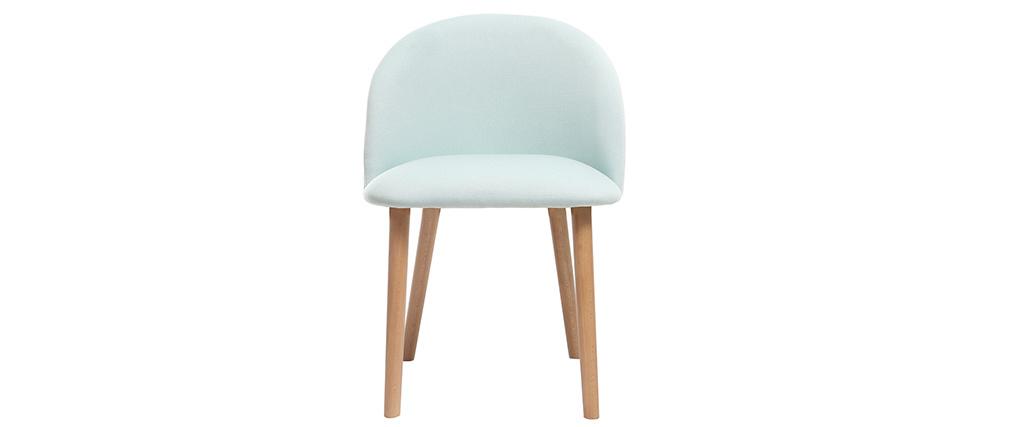 Chaise scandinave menthe à l