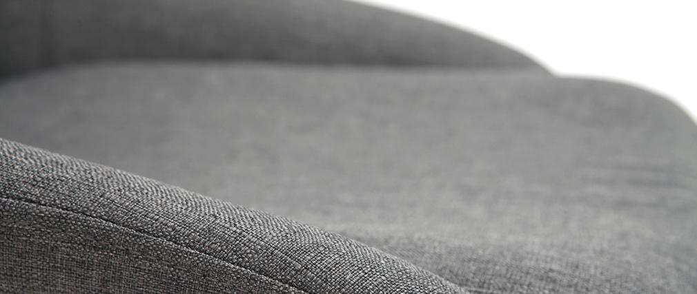 Chaises en tissu gris (lot de 2) HOLO - Miliboo & Stéphane Plaza