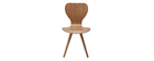 Chaises vintage finition frêne (lot de 2) NORDECO
