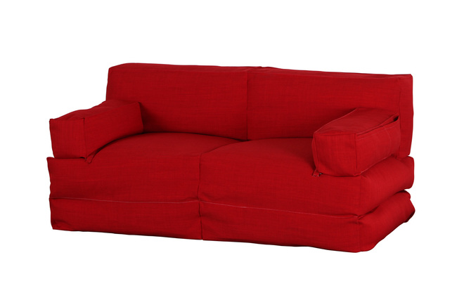 Chauffeuse 2 places modulable rouge COCOON ( Ce produit n'est plus ...