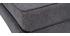 Chauffeuse convertible design effet velours gris foncé KATY