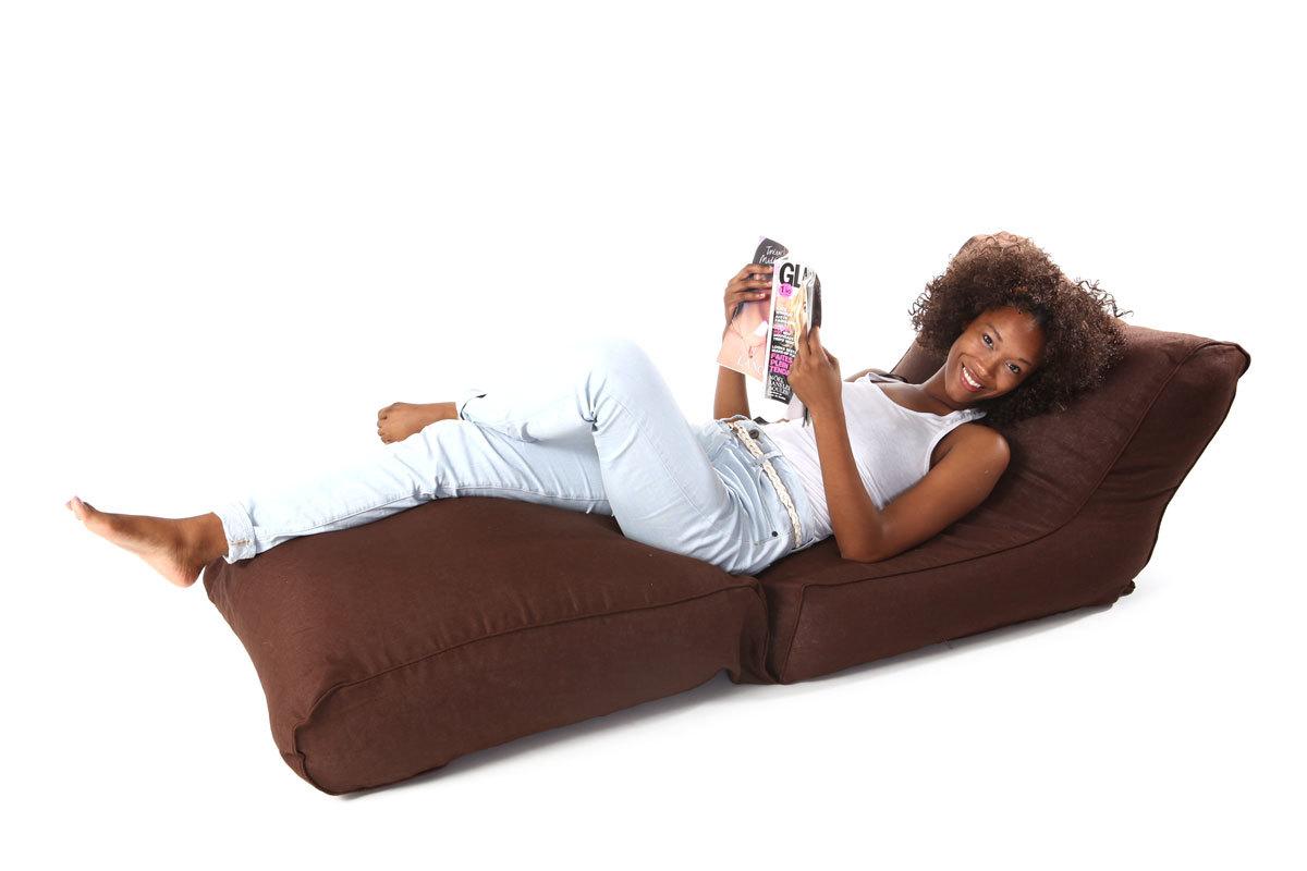 chauffeuse convertible design lin chocolat milibed miliboo. Black Bedroom Furniture Sets. Home Design Ideas