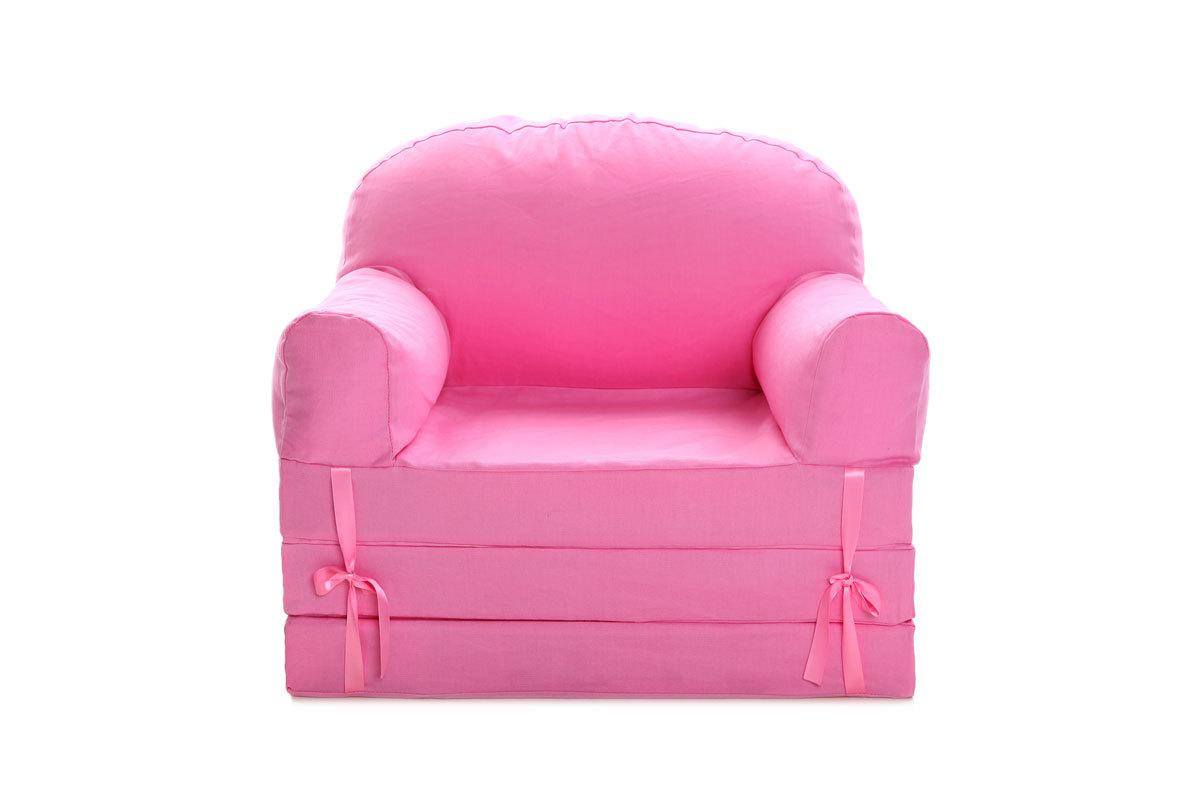 chauffeuse enfant convertible rose noa miliboo. Black Bedroom Furniture Sets. Home Design Ideas