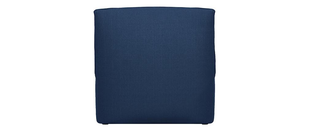 Chauffeuse design tissu bleu foncé MODULO