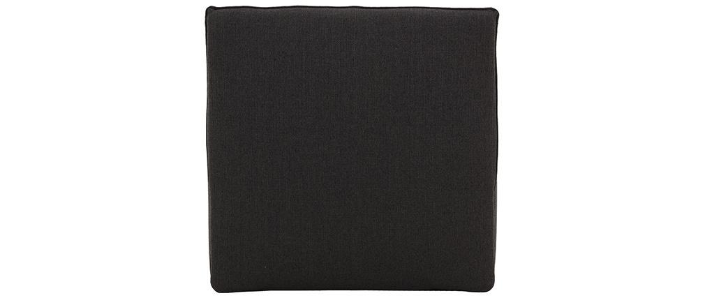 Chauffeuse design tissu gris foncé MODULO