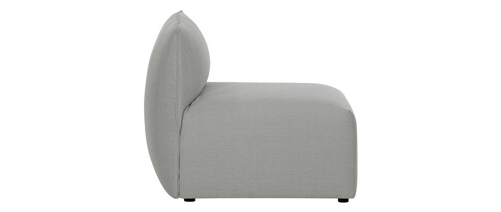 Chauffeuse design tissu gris MODULO