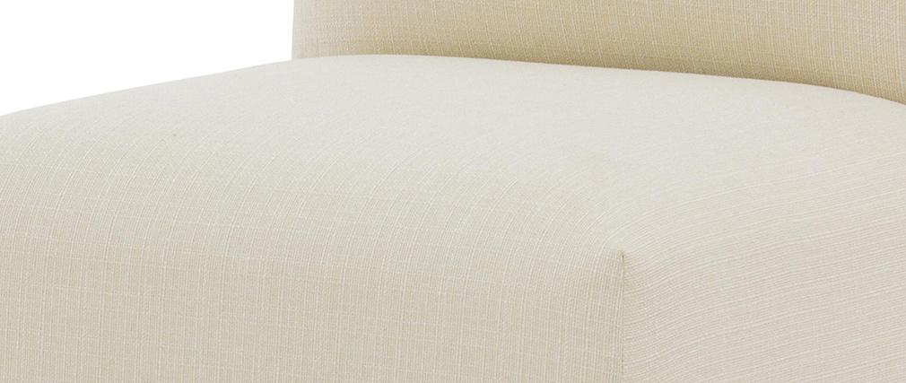 Chauffeuse design tissu naturel MODULO