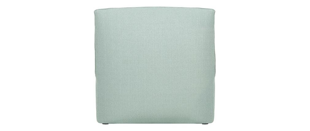 Chauffeuse design tissu vert menthe MODULO