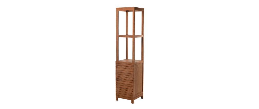 tableau vegetal salle de bain colonne de salle de bain en teck design ano aspect technique - Tableau Design Salle De Bain