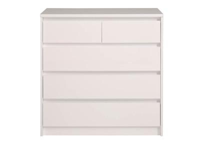 Commode design toutes nos commodes design pas cher miliboo miliboo - Commode 5 tiroirs blanc ...