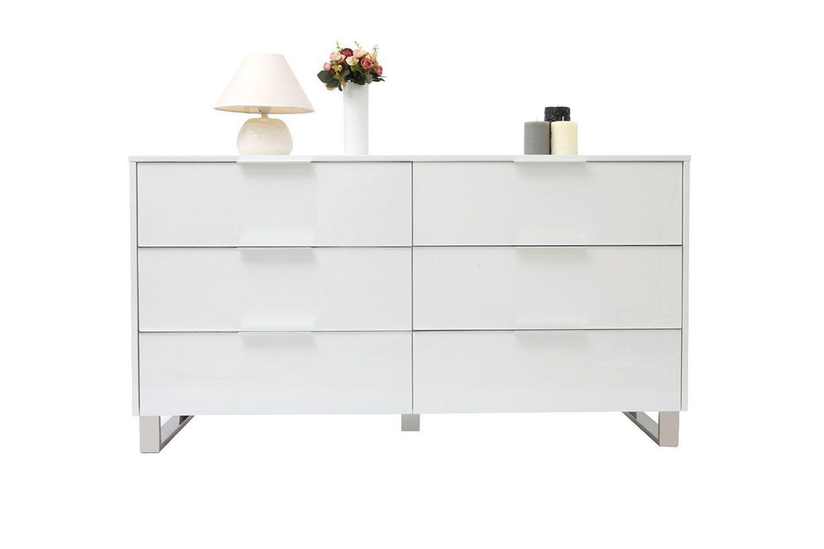 Com guide d 39 achat - Commode contemporaine laquee ...