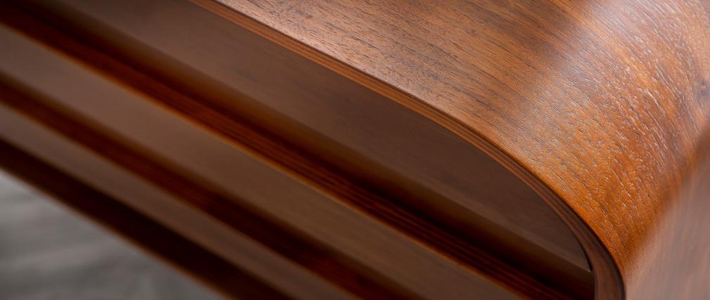 Commode design noyer 3 tiroirs BJORG