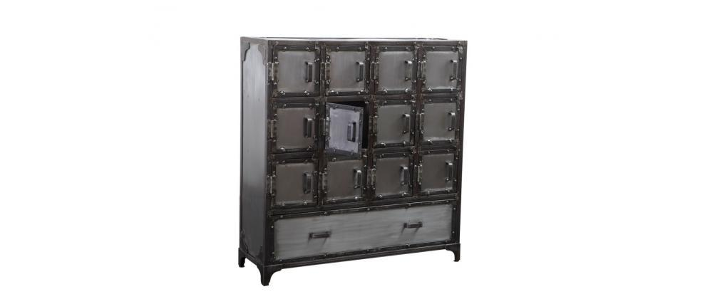 Commode / meubles à chaussures industriel métal FACTORY XL