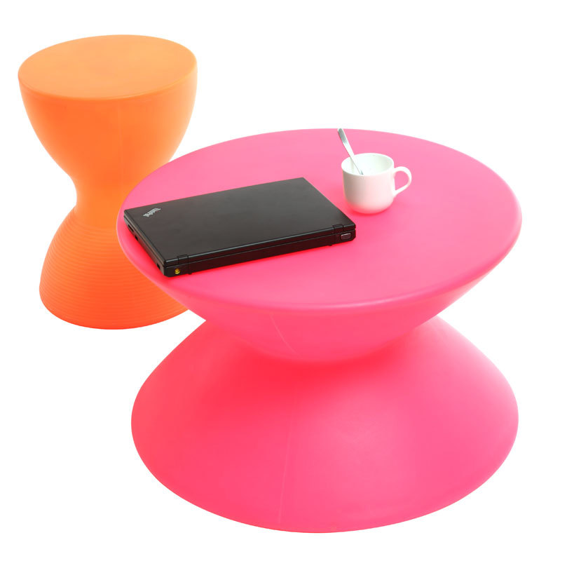 table basse design colorée