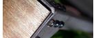 Console industrielle métal et bois ATELIER