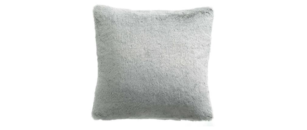 Coussin doux blanc 45 x 45 cm POLAIR