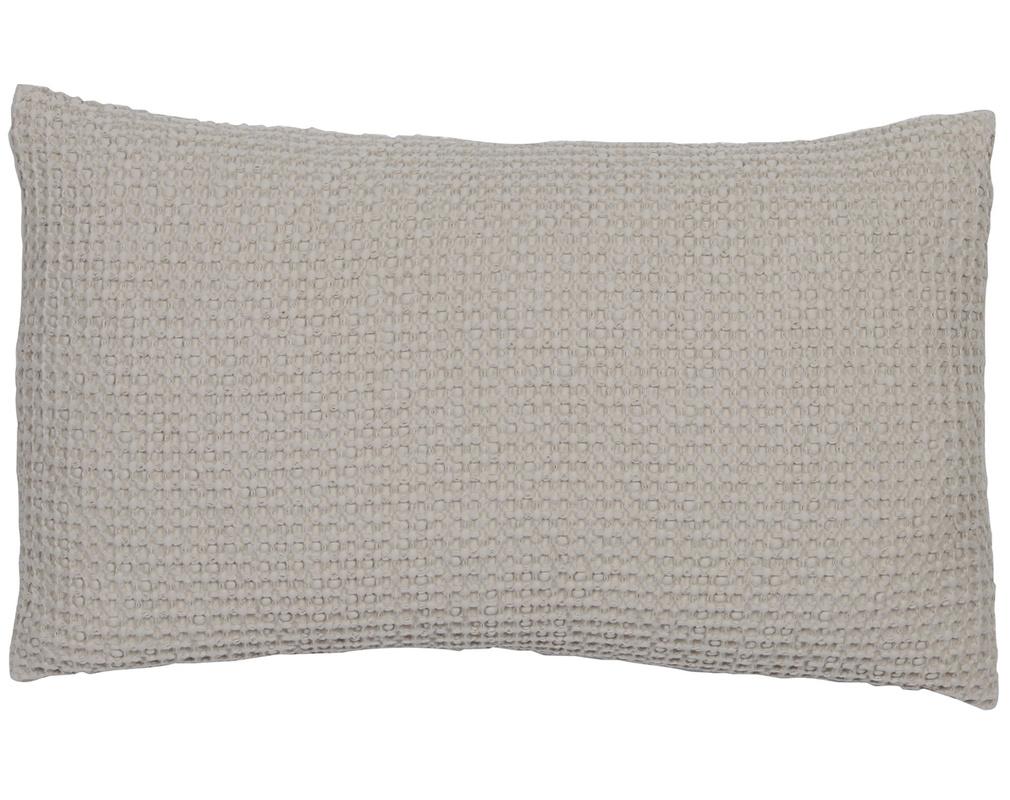Coussin en coton lavé lin 30 x 50 cm YAM