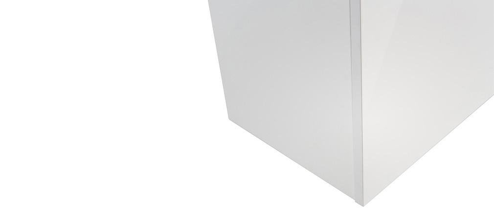 Élément mural carré laqué blanc ETERNEL