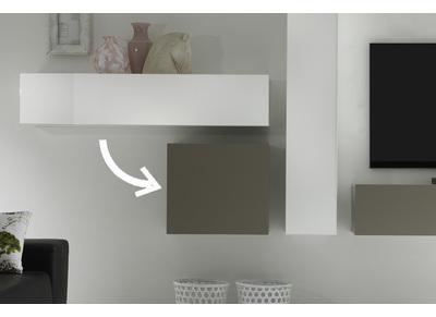 ensemble mural tv nos meubles de salon miliboo miliboo. Black Bedroom Furniture Sets. Home Design Ideas