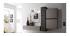 Élément mural design wengé vertical COLORED V2