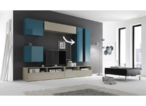 meuble tv personnalis et meuble tv sur mesure miliboo. Black Bedroom Furniture Sets. Home Design Ideas