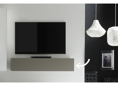 Element Mural Tv Design Taupe Mat Horizontal Colored V2